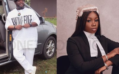 Gospel Music Minister, Buchi Celebrates His Daughter Who Becomes A Lawyer